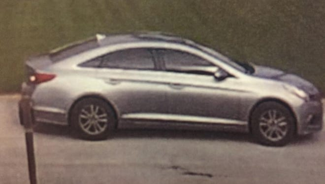 The Martin County Sheriff's Office released an image of a newer model Hyundai Sonata suspected of being connected to at least one home burglary Monday in Palm City.