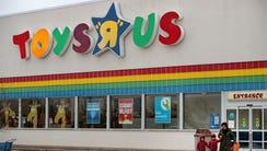 Customers shop at a Toys R Us store on Jan. 24, 2018,