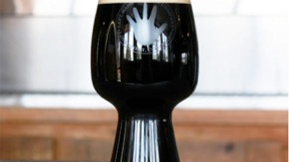 Left Hand Stout Glass.