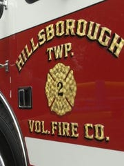 Two people were rescued from an overnight fire at 724 Amwell Road in Hillsborough.