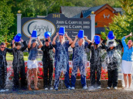 Moms Rock Events nominated the team at All in the Family Dental Care, 2041 Route 35, Wall, for the ALS Ice Bucket Challenge. They accepted on Aug. 18 and will be making a donation. Ongoing community partnership is key to raising awareness about important causes.