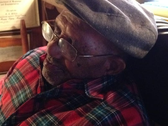 Frank T. Peters, 94, recalls his days in the U. S.