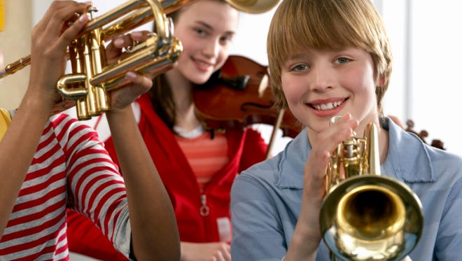 Counselors recommend middle school students take at least one music-related elective.