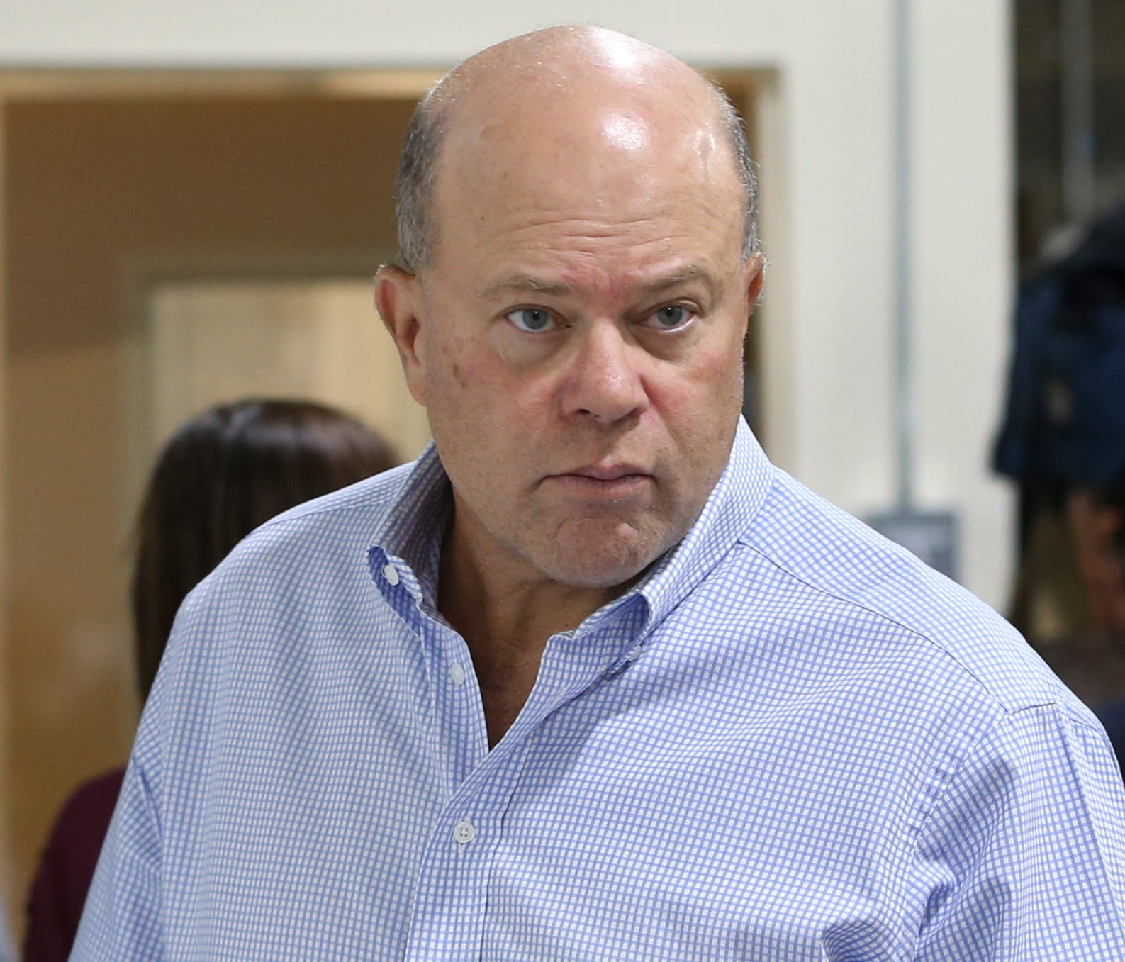 Billionaire hedge fund manager David Tepper.