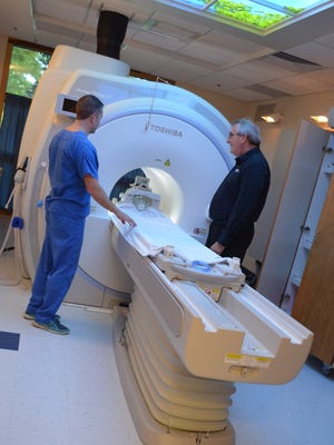 Tallahassee Diagnostic Imaging's new whole-body MRI system.