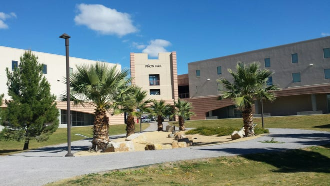Authorities said a fake bomb was placed at an entrance to Piñon Hall, a dormitory at New Mexico State University on Monday night. Students were evacuated and could not return to building for several hours.