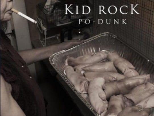 Album cover, Po Dunk by Kid Rock.