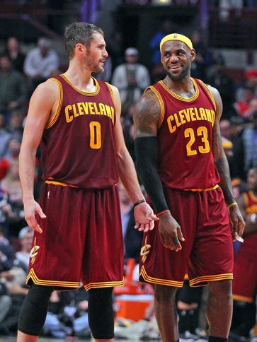 Will the presence of LeBron James persuade Kevin Love