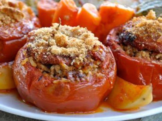 Beef-Stuffed Tomatoes