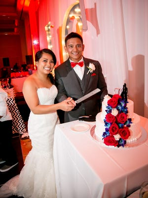 James & Christine Invencion married July 25, 2015 at St. Jude Thaddeus Church in Sinajana.