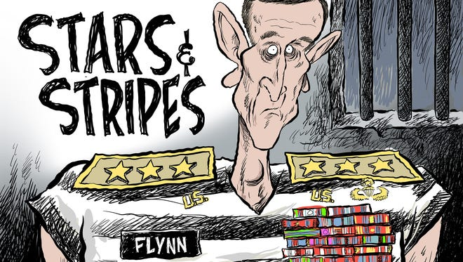 Flynn guilty commentary from Andy Marlette