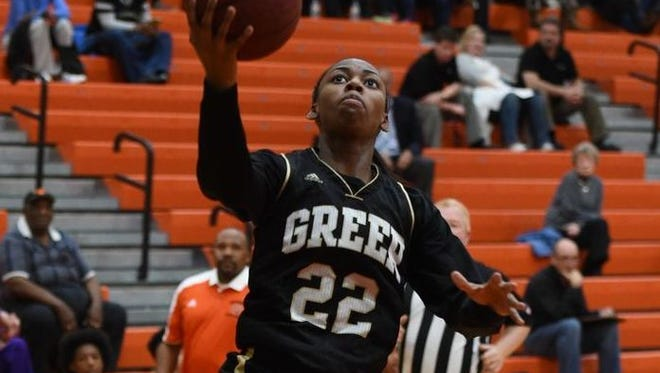 Greer senior point guard Diamon Shiflet, the Greenville County Girls Basketball Player of the Year, averaged 19.2 points and led the Yellow Jackets to a 21-5 record and the Region 2-AAAA championship.