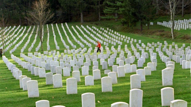 The National Cemetery in Bath. A new site in Pembroke, Genesee County, will provide a closer spot for Buffalo and Rochester area military veterans.
