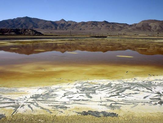 Anaconda Mine Evaporation Pond