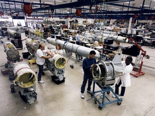 Inside the factory where Raytheon produces Tomahawk