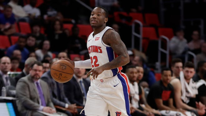 Kay Felder played in two games with his hometown Detroit Pistons.