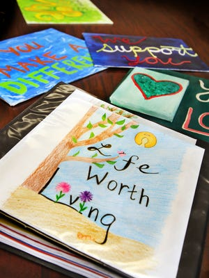 A project that Lawrence North High School seniors started in 2013 to combt youth suicide.