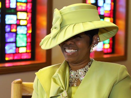 Teisha Smith is a member of New St. James Baptist Church