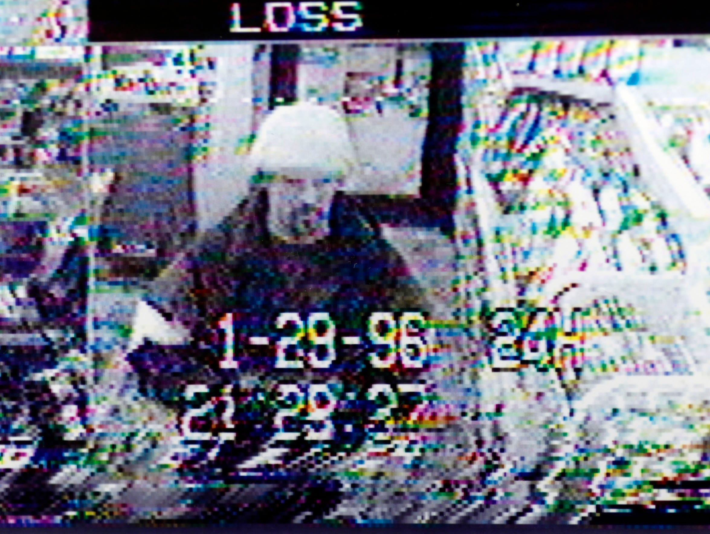 Ken Roering Jr. is seen in a surveillance photo from