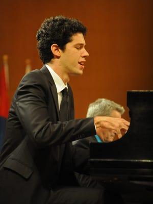 2014 Wideman International Piano Competition gold medal  winner Tomer Gewirtzman will perform this weekend in Shreveport.
