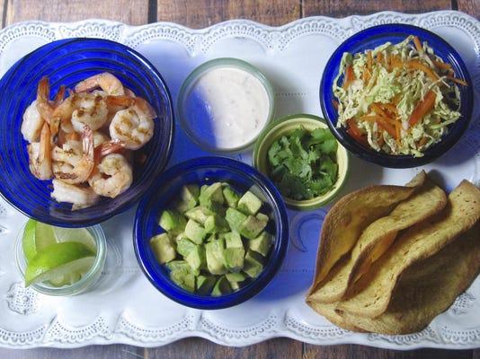 Food KitchenWise Crispy Shrimp Tacos