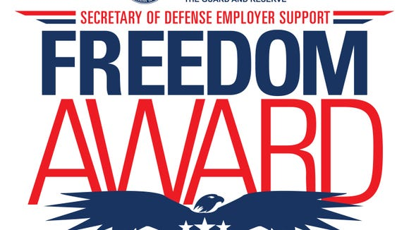 More than 20 Delaware employers of National Guard and Reserve members have been nominated for the 2015 Freedom Award.