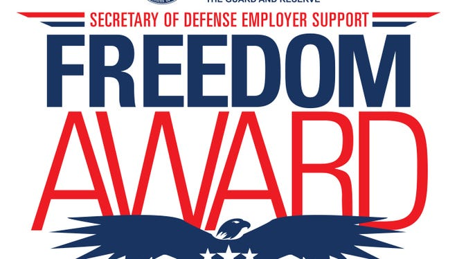 Four Delaware companies have been nominated for the Department of Defense's Freedom Award.