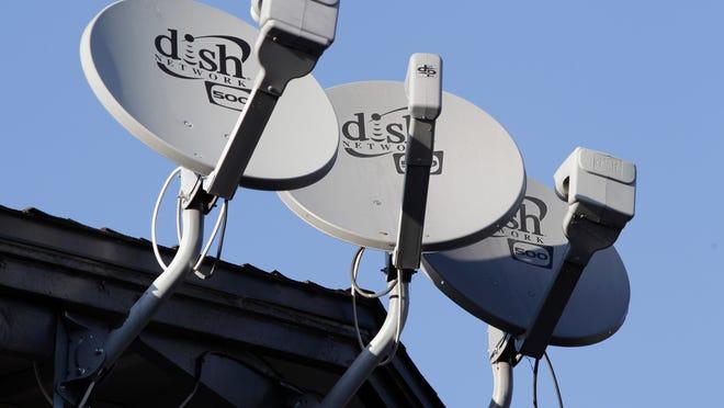 Dish Network satellite dishes