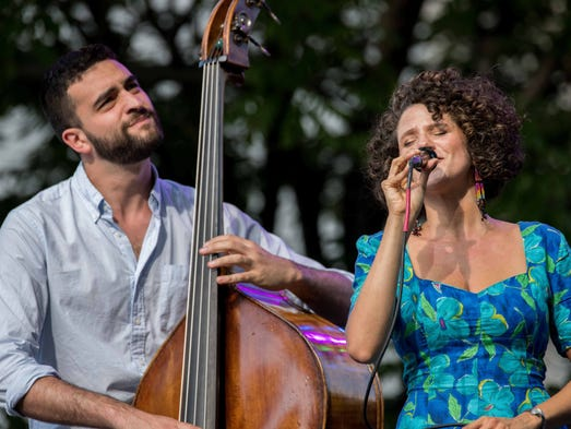Thousands of Jazz fans enjoyed near perfect weather