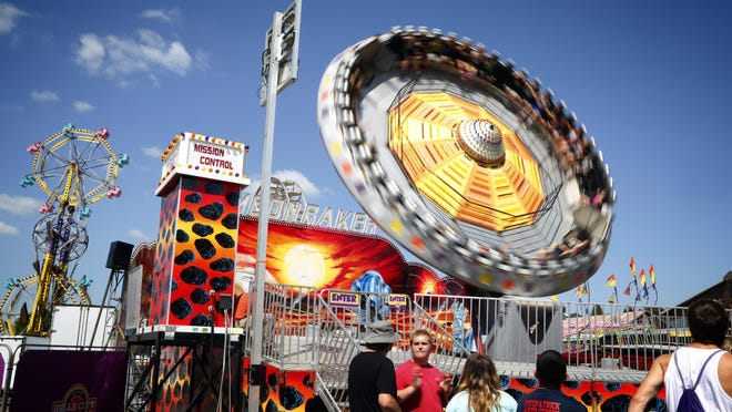 Try the Moonraker in the Midway, a giant spinning disc that oscillates, taking you to angles up to 90 degrees and to heights of more than 70 feet — all while traveling at an exhilarating speed. It's the only ride of its kind on this continent.