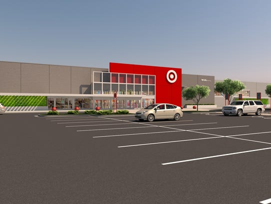 A rendering of a small-format Target store the company