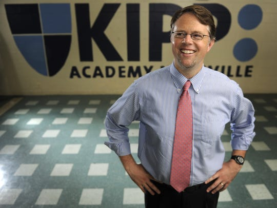 KIPP Nashville Executive Director Randy Dowell saw