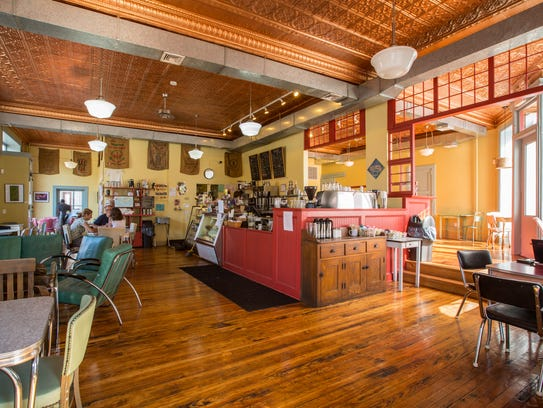 The Peekskill Coffee House has eclectic charm.