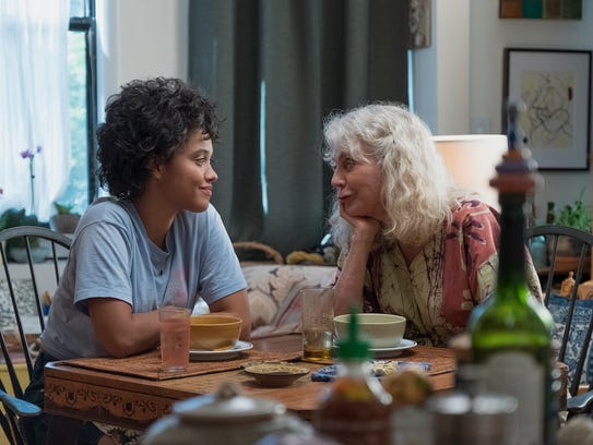 "Kiersey Clemons (left) and Blythe Danner star in ""Hearts"