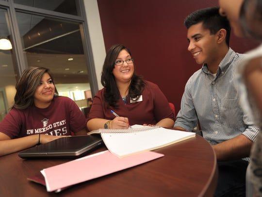 NMSU cross campus advisor and Student Success Navigators