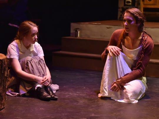 """Alexandra Chopson and Brooke Gronemeyer in """"Skinless."""""""