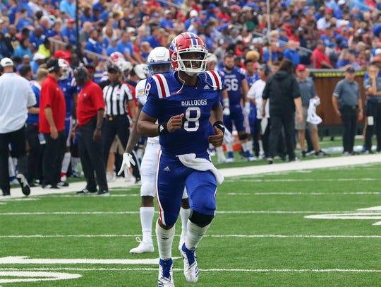 Louisiana Tech quarterback J'Mar Smith will lead his