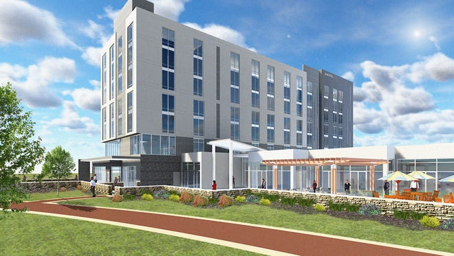 Construction is expected to begin this summer on a 7-story, 122-room hotel at the Wilmington Riverfront. The project is being undertaken by a joint venture between ONIX Group and Big Fish Restaurant Group.