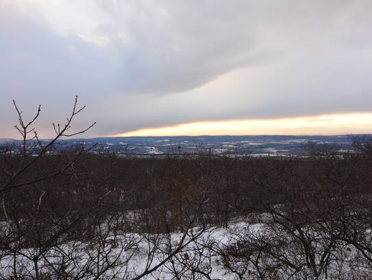 View from the top of Brace Mountain is awe-inspiring