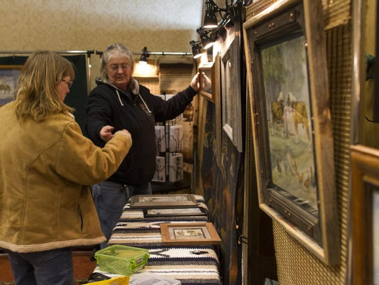 More than 20 artists display their work at the Wild Bunch Art Show each year. The show runs March 14-17.