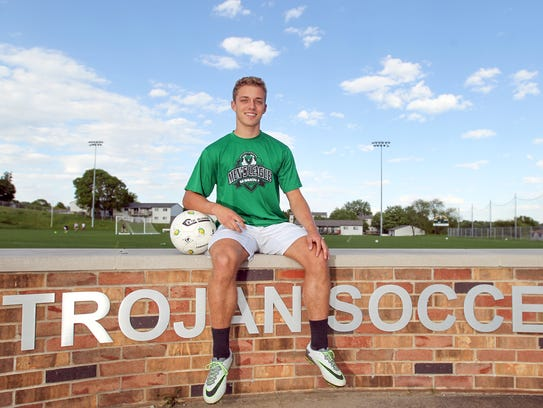 West High's Alex Andersen, a Drake signee, leads the