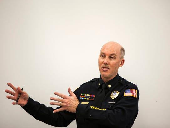 January 22 2014 - Memphis Police Major Don Crowe addresses