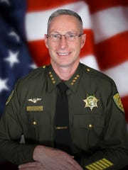 A submitted photo of Washoe County Sheriff Chuck Allen after his election into office in November 2014. Allen has pushed to recruit more volunteers for the department's Deputy Reserve Program.