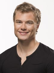 """Jackson Stevens is one of the ensemble skaters in the production of """"Disney On Ice presents Frozen."""""""