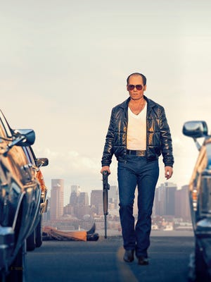 """James """"Whitey"""" Bulger is the latest gangster to hit the big screen, played by Johnny Depp in 'Black Mass.'"""