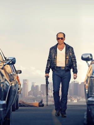 """Johnny Depp portrays Whitey Bulger in the Boston-set film, """"Black Mass."""""""