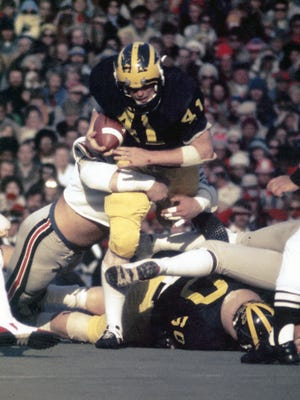 Rob Lytle played at Michigan from 1973-76.