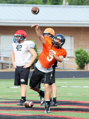Chase Parker and North Buncombe travel to Erwin on Friday.