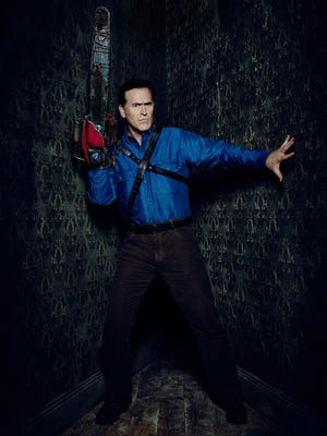 "Royal Oak native Bruce Campbell returns to his iconic role from the 1981 cult classic ""The Evil Dead"" in ""Ash vs. Evil Dead"" soon to be on Starz."