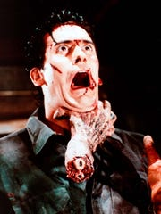 """Metro Detroit native Bruce Campbell made his name playing Ash from """"Evil Dead"""" films."""